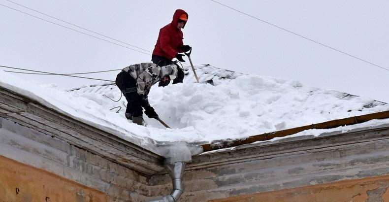 Штанга для уборки снега с крыши